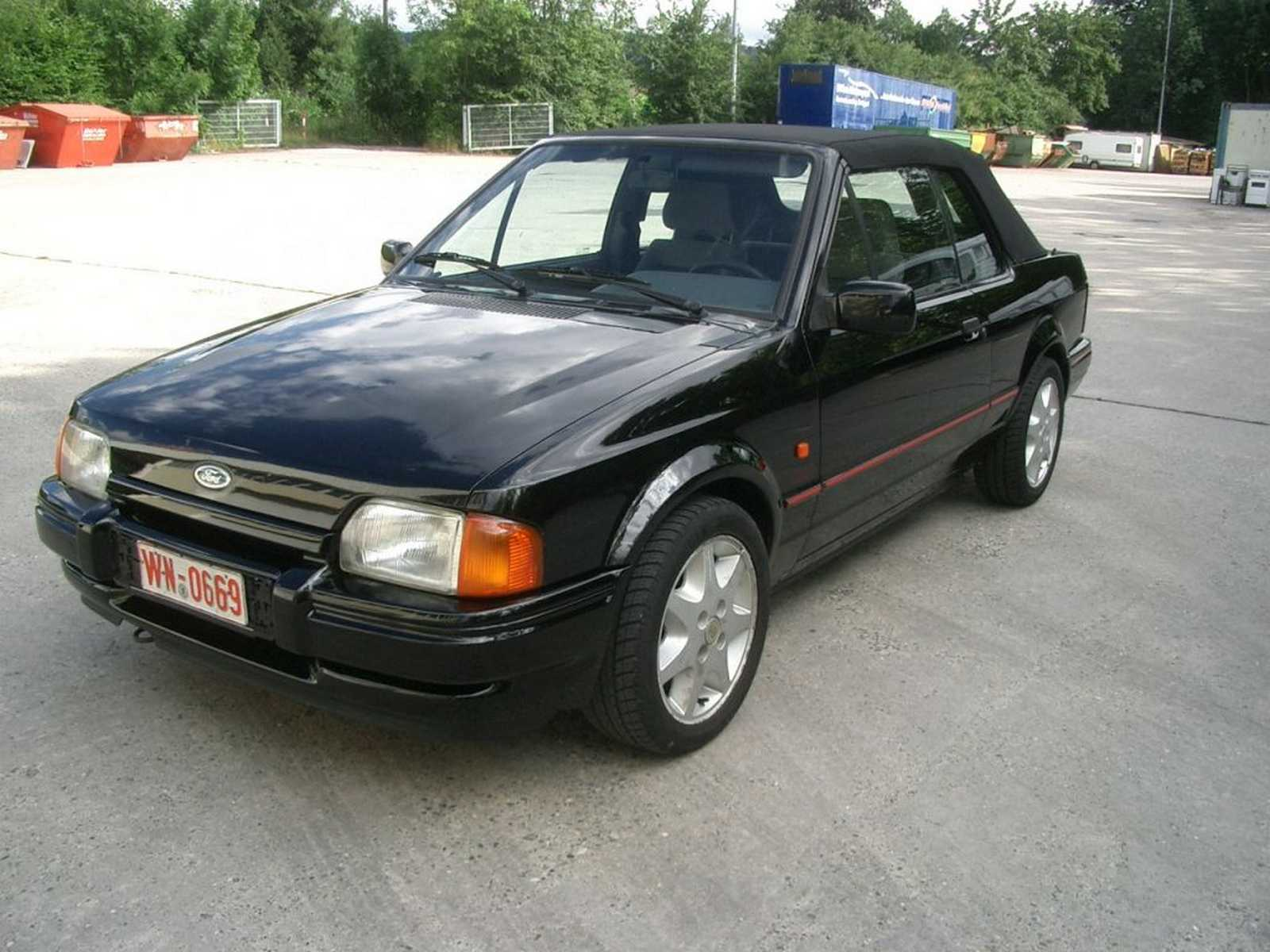 Ford Escort XR3i Cabrio